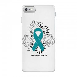 i will never give up for light iPhone 7 Case | Artistshot