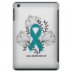 i will never give up for light iPad Mini Case | Artistshot