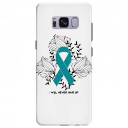 i will never give up for light Samsung Galaxy S8 Plus Case | Artistshot