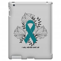 i will never give up for light iPad 3 and 4 Case | Artistshot