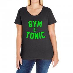 gym tonic Ladies Curvy T-Shirt | Artistshot