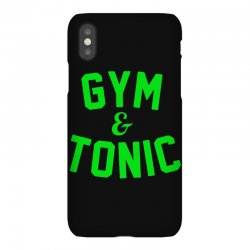 gym tonic iPhoneX Case | Artistshot