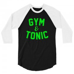 gym tonic 3/4 Sleeve Shirt | Artistshot