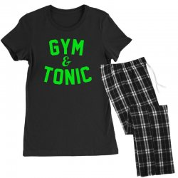 gym tonic Women's Pajamas Set | Artistshot