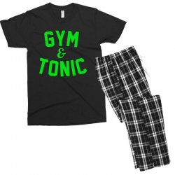 gym tonic Men's T-shirt Pajama Set | Artistshot