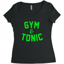 gym tonic Women's Triblend Scoop T-shirt | Artistshot