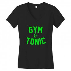 gym tonic Women's V-Neck T-Shirt | Artistshot
