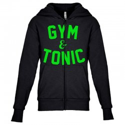 gym tonic Youth Zipper Hoodie | Artistshot