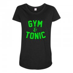 gym tonic Maternity Scoop Neck T-shirt | Artistshot