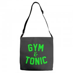 gym tonic Adjustable Strap Totes | Artistshot