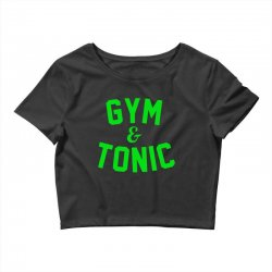 gym tonic Crop Top | Artistshot