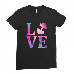 love gym Ladies Fitted T-Shirt | Artistshot