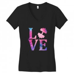 love gym Women's V-Neck T-Shirt | Artistshot