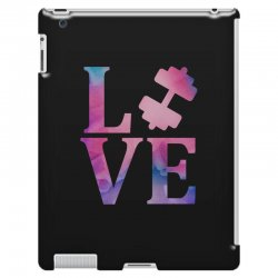 love gym iPad 3 and 4 Case | Artistshot