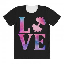 love gym All Over Women's T-shirt | Artistshot