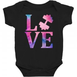 love gym Baby Bodysuit | Artistshot