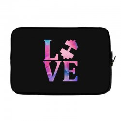 love gym Laptop sleeve | Artistshot