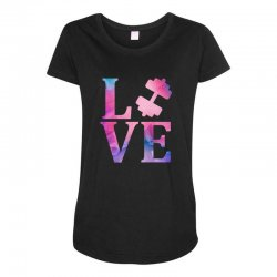 love gym Maternity Scoop Neck T-shirt | Artistshot