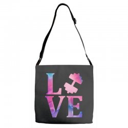 love gym Adjustable Strap Totes | Artistshot