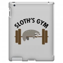 sloth's gym for light iPad 3 and 4 Case | Artistshot