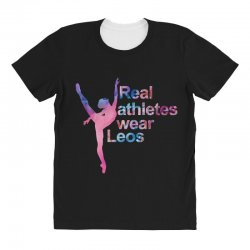 real athletes wear leos All Over Women's T-shirt | Artistshot