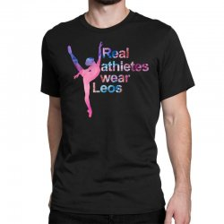 real athletes wear leos Classic T-shirt | Artistshot