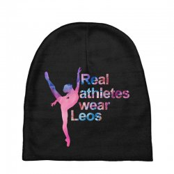 real athletes wear leos Baby Beanies | Artistshot