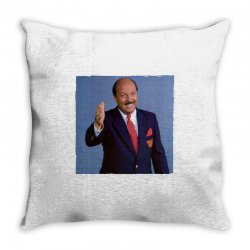gene okerlund Throw Pillow | Artistshot