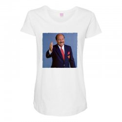 gene okerlund Maternity Scoop Neck T-shirt | Artistshot