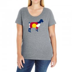 boer goat colorado hometown series Ladies Curvy T-Shirt | Artistshot