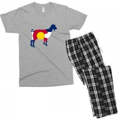 boer goat colorado hometown series Men's T-shirt Pajama Set | Artistshot