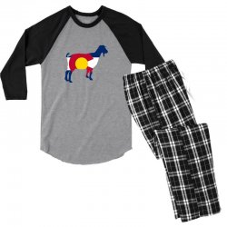 boer goat colorado hometown series Men's 3/4 Sleeve Pajama Set | Artistshot