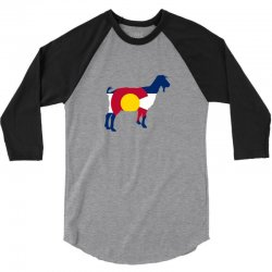 boer goat colorado hometown series 3/4 Sleeve Shirt | Artistshot