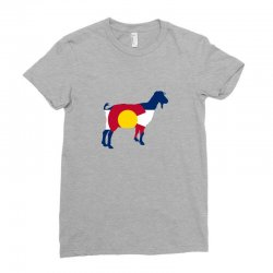 boer goat colorado hometown series Ladies Fitted T-Shirt | Artistshot