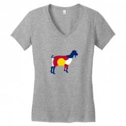 boer goat colorado hometown series Women's V-Neck T-Shirt | Artistshot