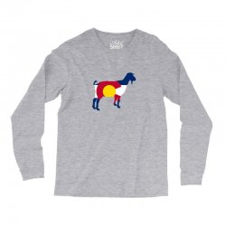 boer goat colorado hometown series Long Sleeve Shirts | Artistshot