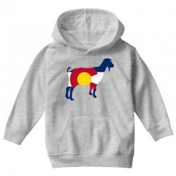 boer goat colorado hometown series Youth Hoodie | Artistshot