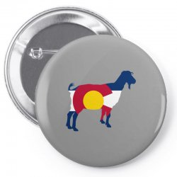 boer goat colorado hometown series Pin-back button | Artistshot