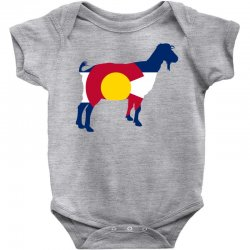 boer goat colorado hometown series Baby Bodysuit | Artistshot