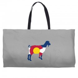 boer goat colorado hometown series Weekender Totes | Artistshot