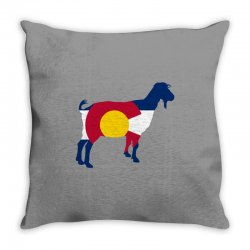 boer goat colorado hometown series Throw Pillow | Artistshot