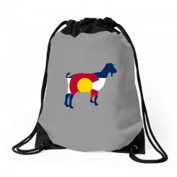 boer goat colorado hometown series Drawstring Bags | Artistshot