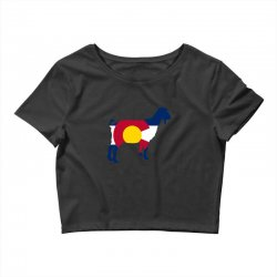 boer goat colorado hometown series Crop Top | Artistshot