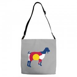 boer goat colorado hometown series Adjustable Strap Totes | Artistshot