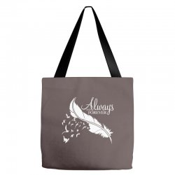 always and forever for dark Tote Bags | Artistshot