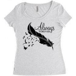always and forever for light Women's Triblend Scoop T-shirt | Artistshot