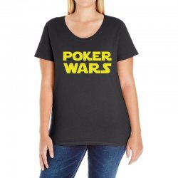 poker wars Ladies Curvy T-Shirt | Artistshot
