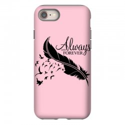 always and forever for light iPhone 8 Case | Artistshot