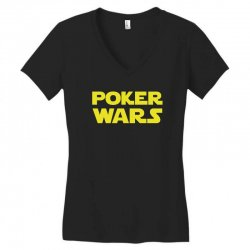 poker wars Women's V-Neck T-Shirt | Artistshot