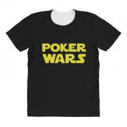 poker wars All Over Women's T-shirt | Artistshot